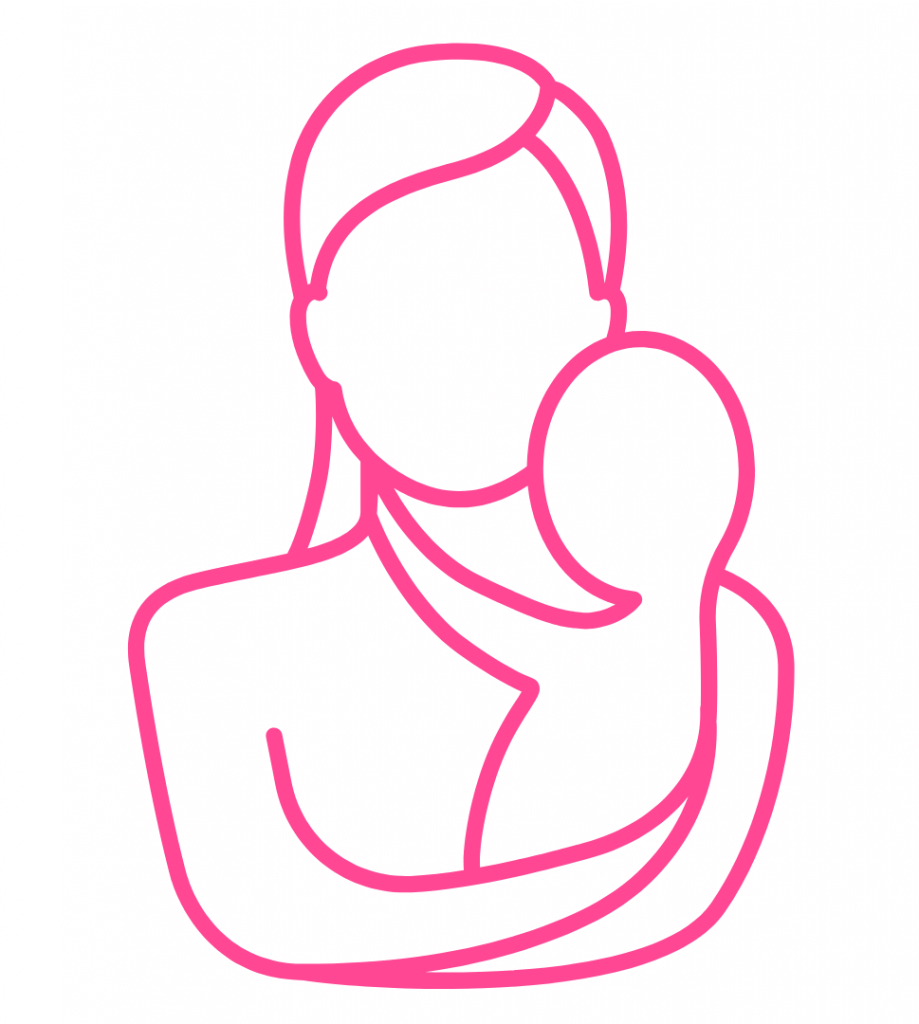OSNA picto femme avec enfant